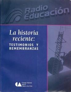 Radio Educacion Historia Reciente
